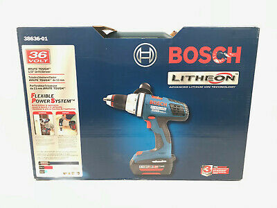 Bosch 38636-01 36V Lithiom-Ion Brute Tough Cordless Drill/Driver 38636