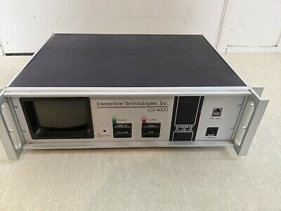 Interactive Technologies CS-4000 Interactive Central Station Monitor