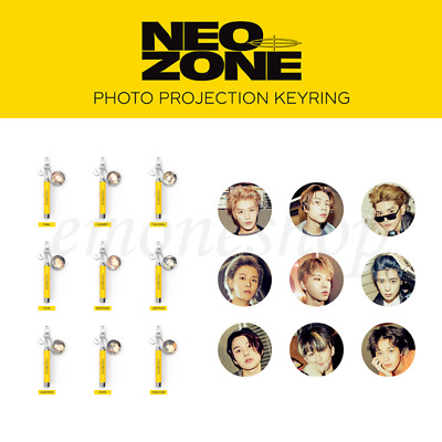 PRE-ORDER NCT 127 NEO ZONE PHOTO PROJECTION KEY RING SEALED KPOP Official Goods