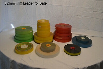 Kodak 35mm and some 16mm Film Leader For sale (LOWEST PRICE!)