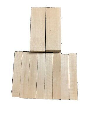 (10) BEAUTIFUL BASSWOOD Carving /Whittling Wood Block Kit For Beginner To Expert