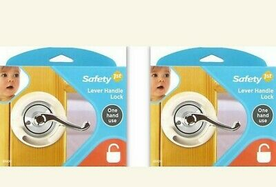 Lot of 2 Safety 1st Lever Handle Locks NEW
