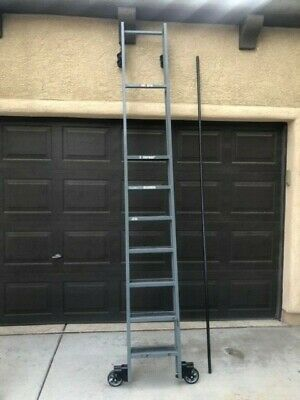 Cotterman - Single Trak 7 Step Industrial Rolling Ladder