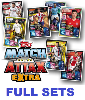 Topps Match Attax Extra 2019/2020 COMPLETE SETS Buy 3 Get 1 Free