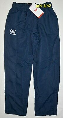 CANTERBURY ARENA KIDS BOYS NAVY 12Y only GIRLS YOUTH TRACK PANTS