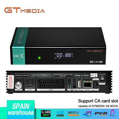 Satellite Receiver Gtmedia V8 Nova Same as V8 Honor Built in Wifi Dongle Full HD