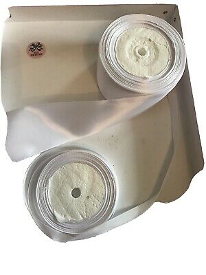 Double Sided Faced Satin Ribbon 9mm & 48mm x 10 Meters