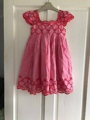 Girls Next Beautiful *Rare* Stunning Embroidered Dress Age 5 - 6 Years *Bnwt*