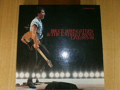 Bruce Springsteen & The E Street Band  Live 1975-1985-3 CD BOX SET WITH BOOKLET