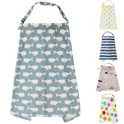 Breastfeeding Cover Feeding Baby Nursing Apron Women Mum Shawl Clothes AU