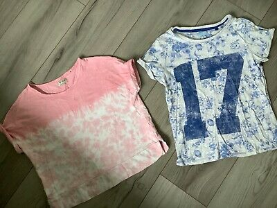 Small Bundle of Two Girls Tops All Age 10 From Next
