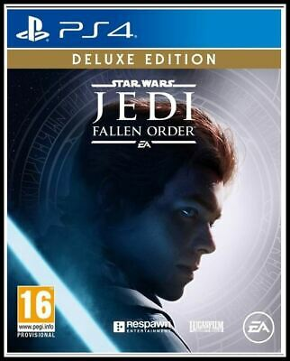 Star Wars Jedi Fallen Order Deluxe Edition Ps4*Neu/Ovp*Dhl Tracking*