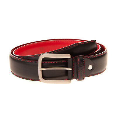SPARCO Leather Belt Size 105 / 42 Adjustable Length Pin Buckle Made in Italy