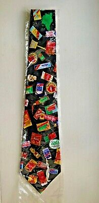 Original ShopRite Grocery Store  Mens Silk Tie - from the 80's  - FREE $HIPPING