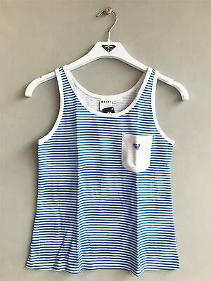 BNIP Girl/'s Sz 3 Lulu /& George Brand Pure Cotton Cute Bird Logo Singlet//Tank Top