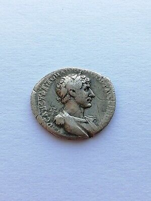 Ancient Roman Empire Silver Coin ​​Adrian (Denarius)