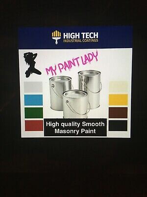 High Opacity Outstanding Quality Smooth Masonry Paint 20 Litres Fast Delivery