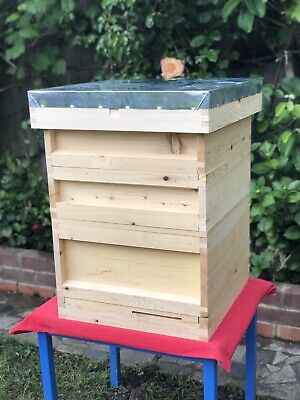 BS National Beehive, Full Set, Anatolian Cedar wood, Solid, No Glue or Chemicals