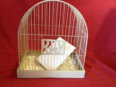 Antique Bird cage domed Art Deco  Wrought Iron