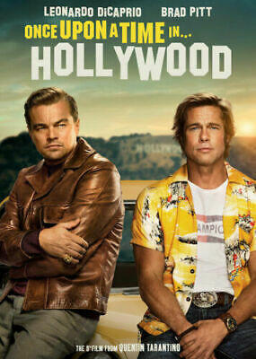 Once Upon a Time In Hollywood DVD, 2019 Brand New & Sealed FREE SHIPPING
