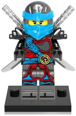 Ninjago Ninja Nya Lloyd Zane Cole Custom Lego Mini Figure Samurai Warrior Toy