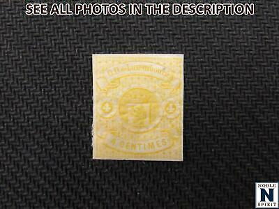 NobleSpirit No Reserve (RB) Exciting LUXEMBOURG No. 6 MH w/ Gum F/VF = $260 CV