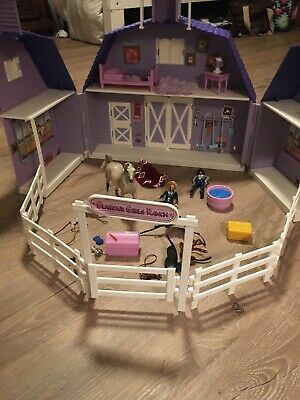 Breyer Purple Glamor Girls Ranch Horses Paddock Pals