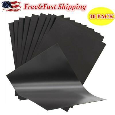 10 A4 Magnetic Sheets(0.5mm Thick) Flexible for Car Signs & Die Storage US Stock