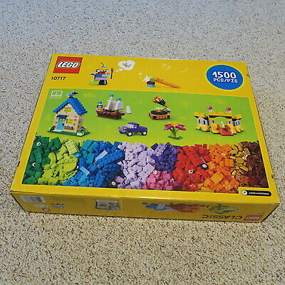 NEW LEGO 1500 PIECES! Classic XL Extra Large Bricks Box #10717 STARTER KIT LEGOS