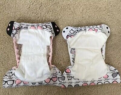 BumGenius Elemental AIO Cloth Diaper Organic Cotton Audrey Hepburn