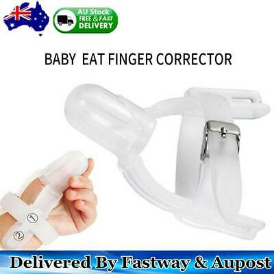 Thumbsucking Silicone Thumb Sucking Stop Finger Guard Protect Tool For Baby Kids