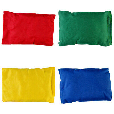 360 Soft Filled Kids Fun Play Games PE Bean Bags Pack Of 4 Different Colours