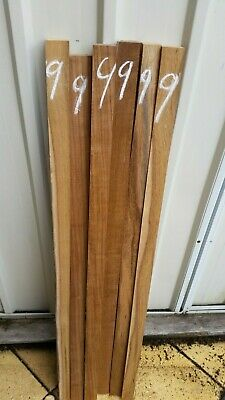 Teak woodworking, craft, wood turning timber 38mm x 38mm x 1000mm