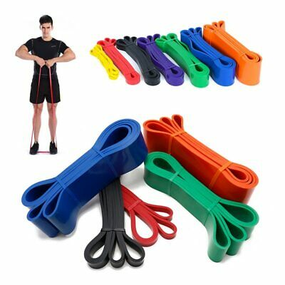 Heavy Duty Fitness Exercise Bands Latex Resistance Fitness Power Assist GYM Band