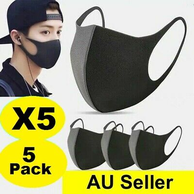 X3 Face Mask Mouth cover Masks Protective Man & Woman Reusable