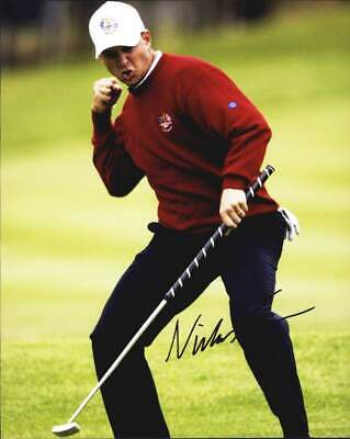 Niclas Fasth authentic signed PGA golf 8x10 photo W/Cert Autographed A0009