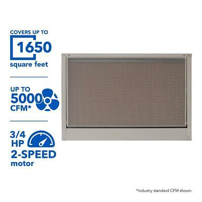 MasterCool Whole House Evaporative Cooler 5000 CFM Cellulose Motor Not Included
