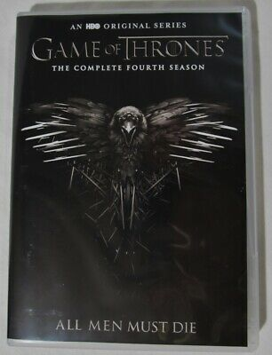 Game Of Thrones DVD The Complete Fourth Season All Men Must Die 5 Disk Set 4th