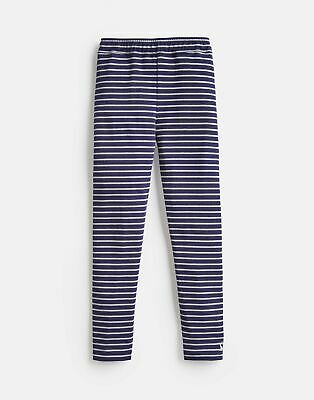 Joules Girls Glitzy   Lurex Stripe Legging  -  Size 1yr