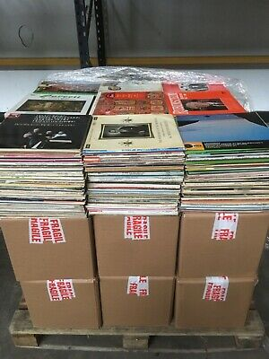 Huge job lot / collection of classical music records aprox 35,000 (13 pallets)