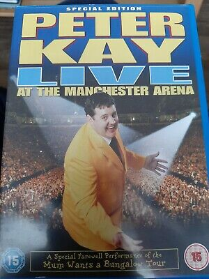 Peter Kay Live At Manchester  Arena
