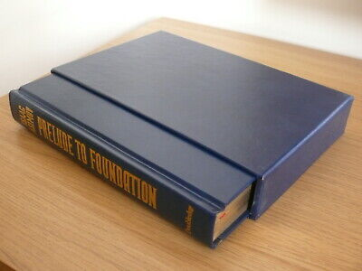 Prelude to Foundation - Isaac Asimov - Signed First Edition.