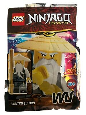 Lego Ninjago: Wu Mini Figure. Limited Edition