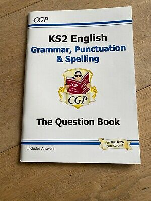 New KS2 English: Grammar Punctuation and Spelling Question Book for the 2019 tes