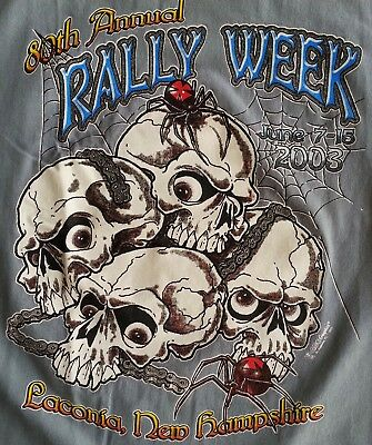 Laconia 1994 Motorcycle /& Race Week 1st Official Video VHS Rare Bike Rally Video