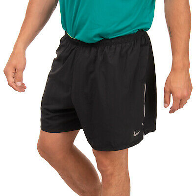 NIKE PRO Running Shorts Size L Dri-Fit Double Layer Reflective Stripe
