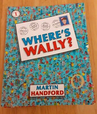 Where's Wally Set Of 5 Books Numbers 1 To 5 * Excellent Condition *