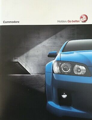 Holden Commodore VE Sales Brochure with V8 SS and SSV 8.2008