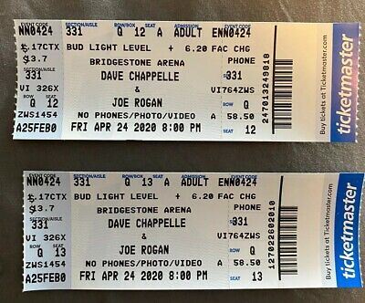 Dave Chapelle & Joe Rogan Tickets