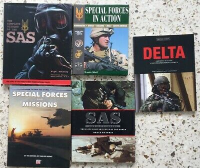 SAS  & Special Forces - 5 Good Reference Books